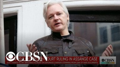 U.S. government fighting to return WikiLeaks founder Julian Assange to the states to face espiona…