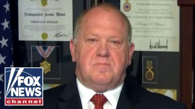 Tom Homan: Migrants continue to cross border because there are 'no consequences'