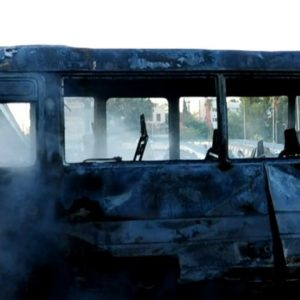 At least 14 killed in military bus bombing in Syria's capital