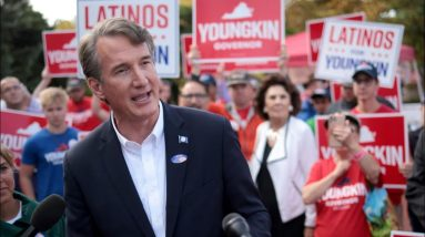 Virginia's governor race in final stretch with two weeks left before Election Day