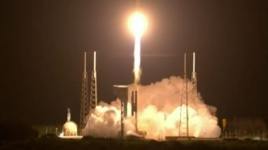 NASA launches spacecraft on 12-year mission