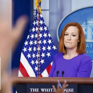 Psaki accused of violating the Hatch Act at White House podium