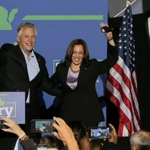 Vice President Harris campaigns for McAuliffe in Virginia