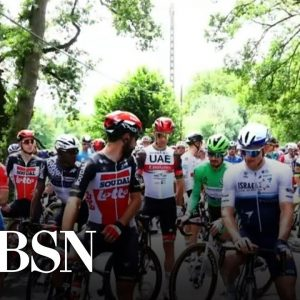 WorldView: Trial begins for Tour de France fan who caused crash
